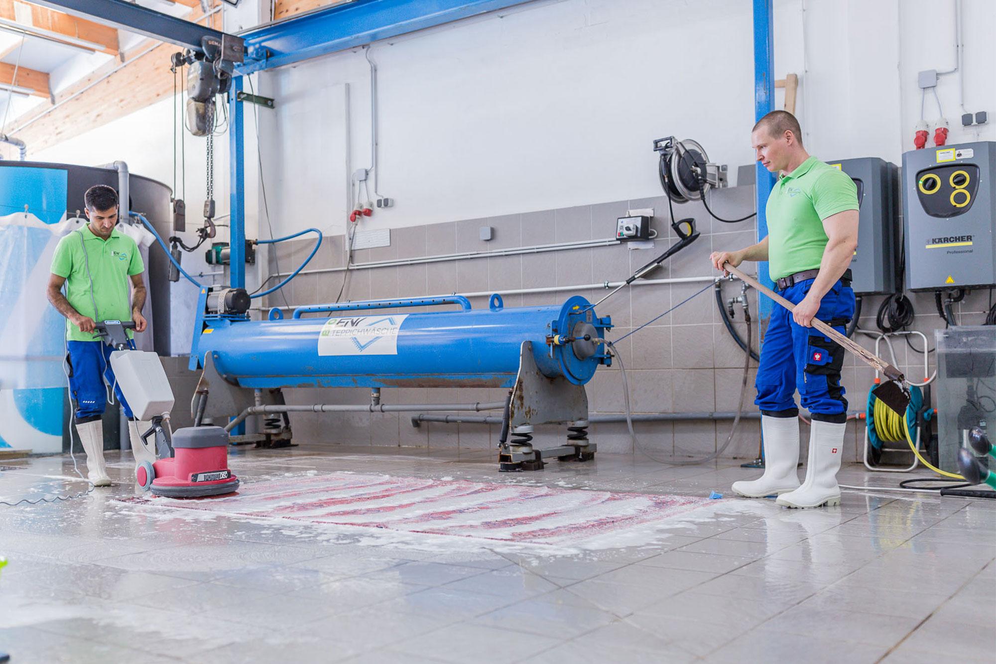Teppich reinigen in salzburg  Bioteppichwäsche Einy