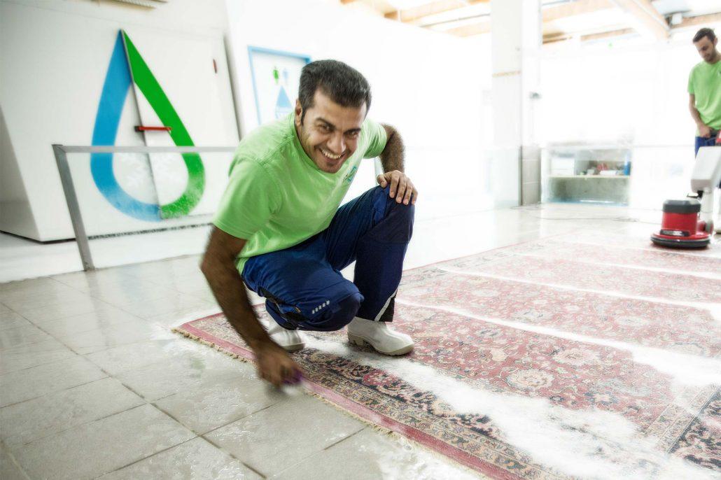biologisch Reingung Teppich Bio Teppichwäsche Einy